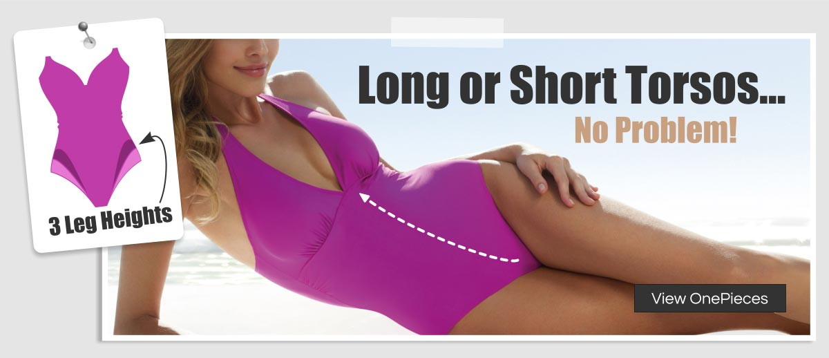 Bikini for short torso